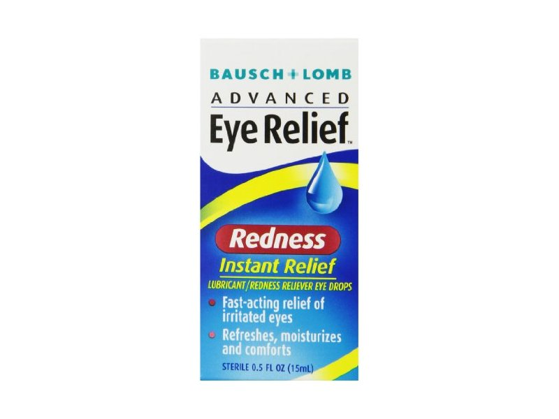 Bausch & Lomb Advanced Eye Relief Instant Redness Reliever
