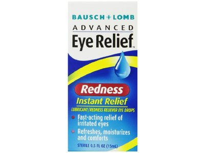 Bausch & Lomb Advanced Eye Relief Instant Redness Reliever - Image 1