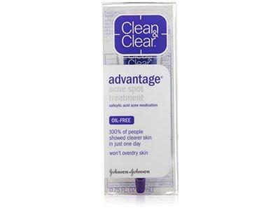Clean & Clear Clear Advantage Acne Spot Treatment, 0.75 oz. - Image 4