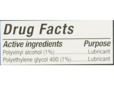 Hypo Tears Lubricant Eye Drops, Sterile - Image 3