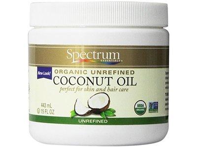 Spectrum Organic Unrefined Coconut Oil, 15 fl oz
