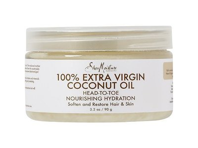SheaMoisture 100% Extra Virgin Coconut Oil, 3.2 oz