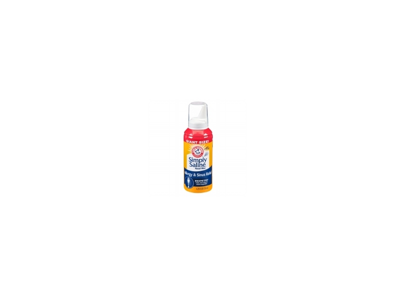 Simply Saline Sterile Saline Nasal Mist, Allergy & Sinus Relief, 4.25 fl oz