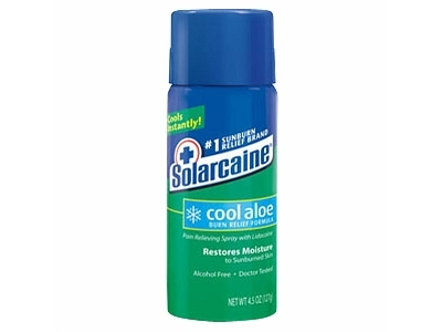Solarcaine Cool Aloe Burn Relief, 6oz