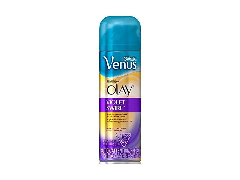 Gillette Venus & Olay Shave Gel, Violet Swirl - 7 oz