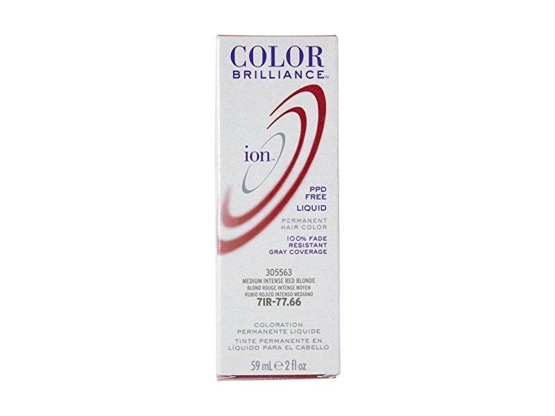 Ion Color Brilliance Permanent Liquid Hair Color Jet Black