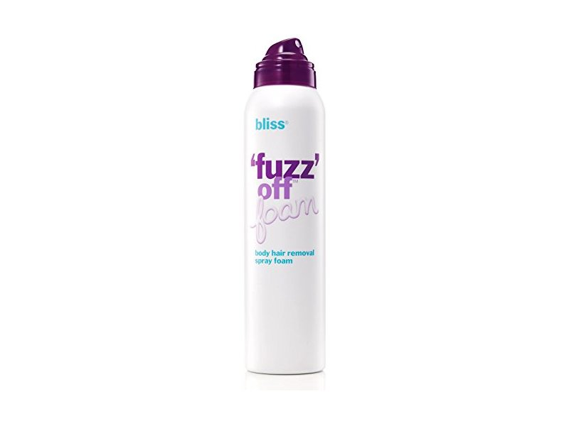 Bliss Fuzz Off Foam Body Hair Removal Spray Foam, 5.5 oz.