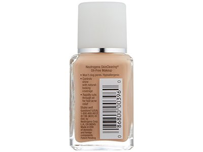 Neutrogena Skinclearing Liquid Makeup - All Shades, Johnson & Johnson - Image 4