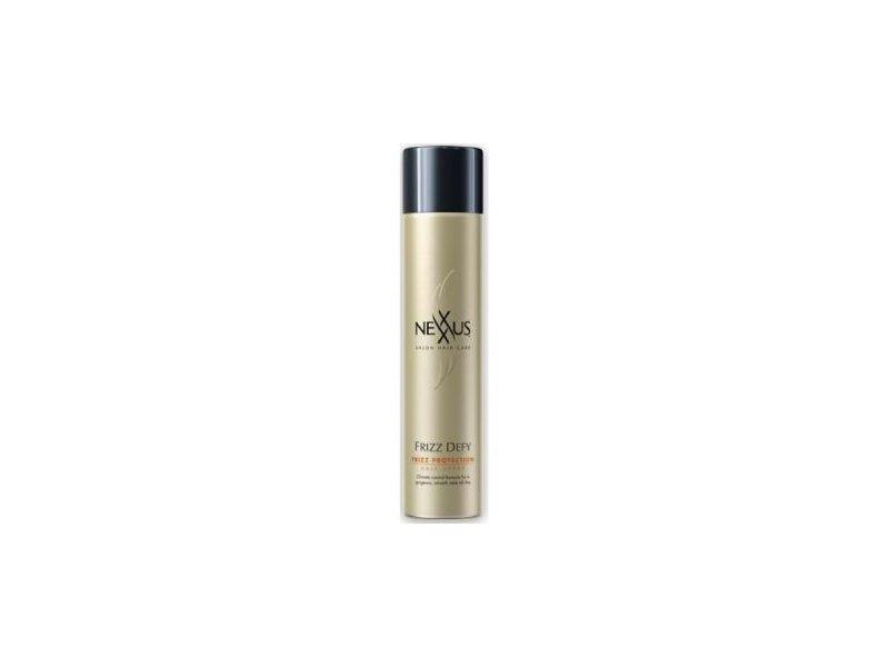 Nexxus Frizz Defy Aerosol Hair Spray, Unilever
