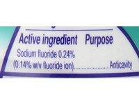 Colgate 2-in-1 Toothpaste & Mouthwash, Whitening Icy Blast, 4.6 oz - Image 3