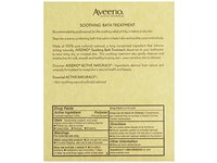 Aveeno Soothing Bath Treatment Fragrance Free - Image 6