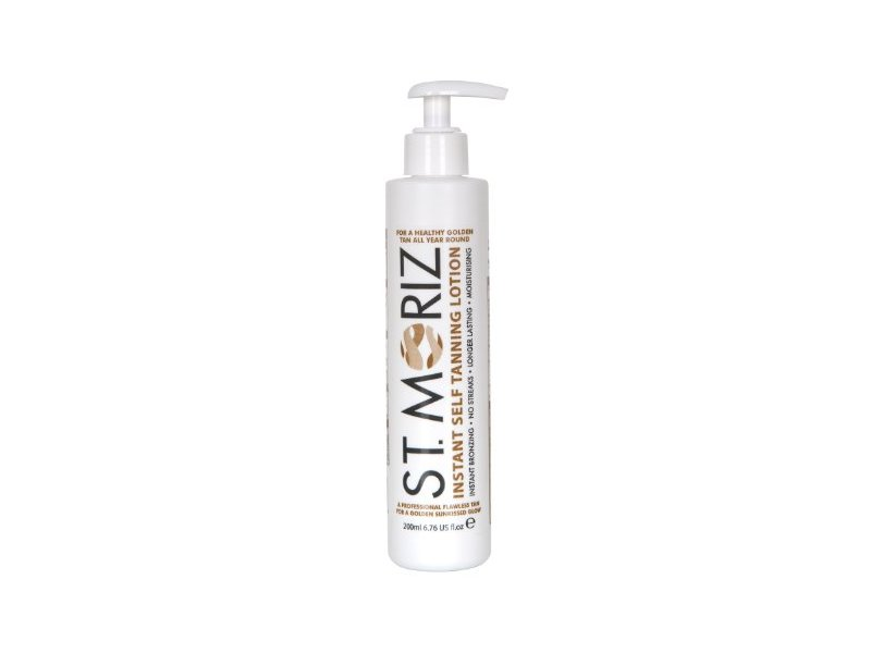 St. Moriz Instant Self Tanning Lotion, (200ml)