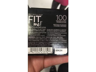 Maybelline New York Fit Me Matte+Poreless Powder, Translucent, 0.29 Ounce - Image 9