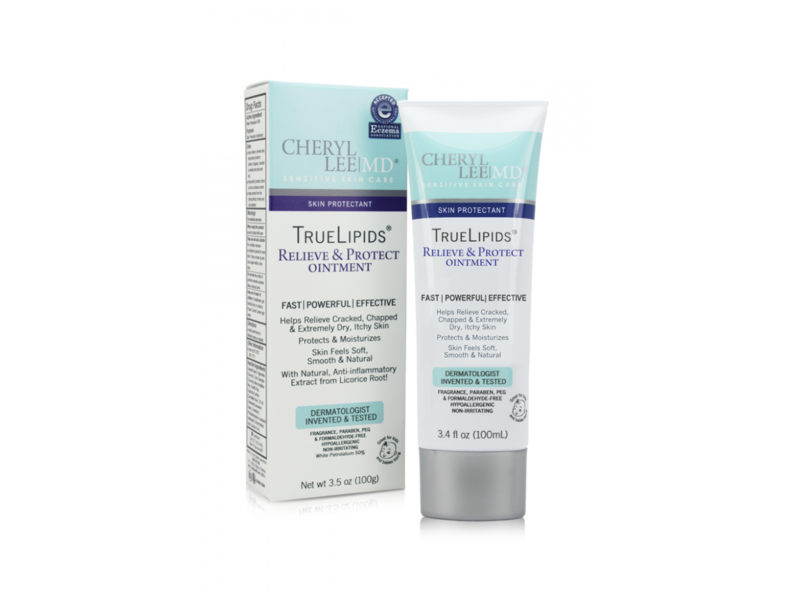 Cheryl Lee MD Sensitive Skin Care TrueLipids Relieve & Protect Ointment