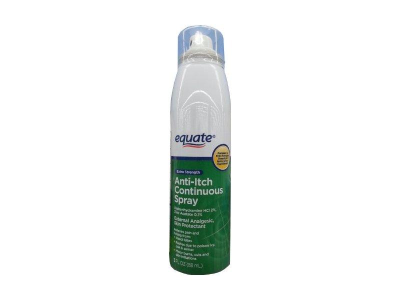 Equate Extra Strength Anti-Itch Spray