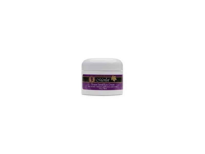 Merlot Natural Grape Seed Eye Cream 1 Fl. Oz., (28.4g)