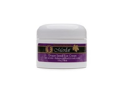 Merlot Natural Grape Seed Eye Cream 1 Fl. Oz., (28.4g)