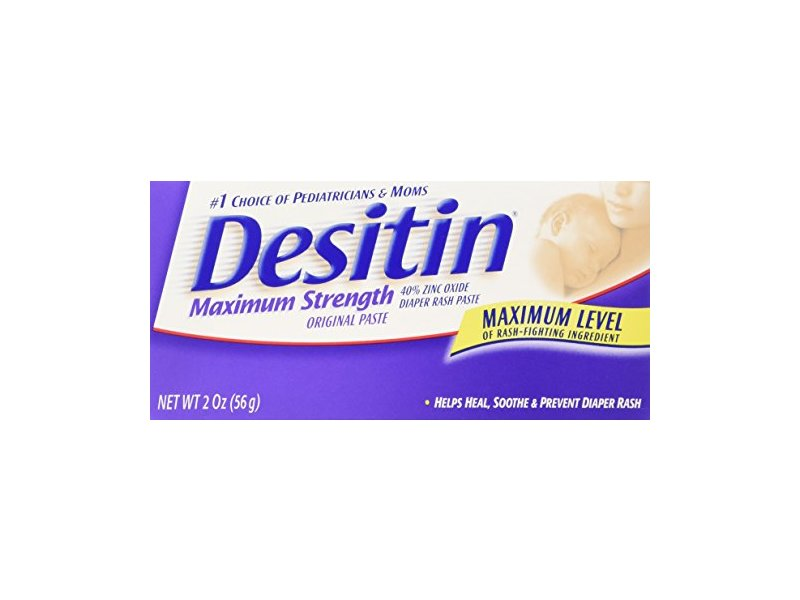 Desitin Diaper Rash Cream - 2 oz - Ingredients and Reviews