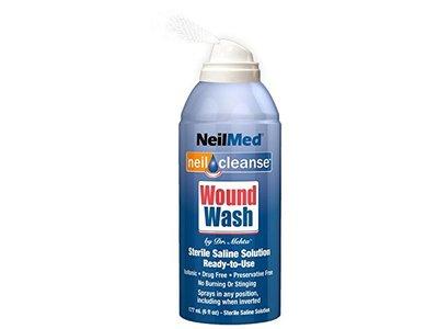 NeilMed Neil Cleanse Wound Wash Piercing Aftercare, 6 fl oz