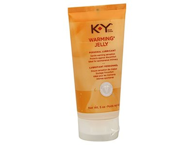 K-Y Warming Jelly Personal Lubricant, 5-Ounce Tubes (Pack of 2)