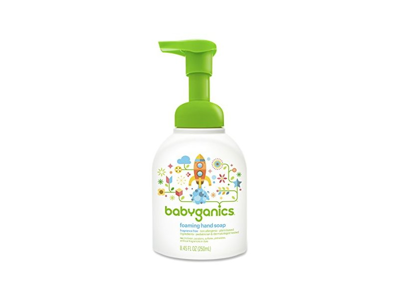 Babyganics Foaming Hand Soap, Fragrance Free