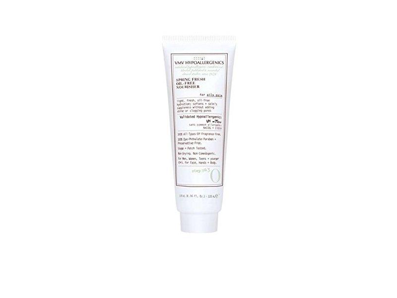 VMV Hypoallergenics Spring Fresh Oil-free Nourisher For Oily Skin, 4.0 fl oz