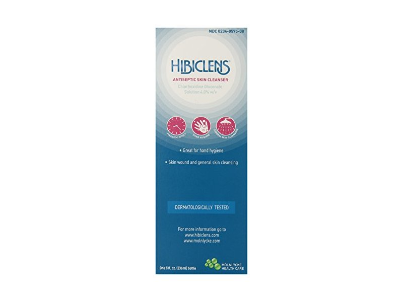 Hibiclens Antiseptic/Antimicrobial Skin Cleanser, 8 Fluid Ounce