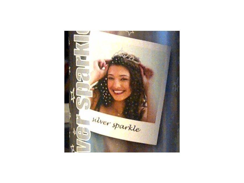 Spray On Wash Out Silver Sparkle Glitter Hair Color Temporary Hairspray, 3 oz