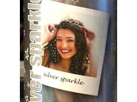 Spray On Wash Out Silver Sparkle Glitter Hair Color Temporary Hairspray, 3 oz - Image 2