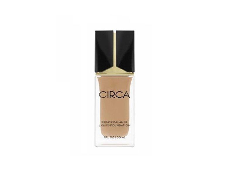 Circa Beauty Color Balance Liquid Foundation, 07 Golden Medium Beige, 1 fl oz