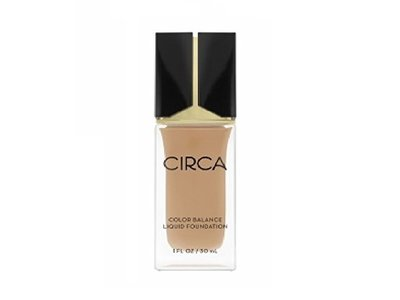 Circa Beauty Color Balance Liquid Foundation, 07 Golden Medium Beige, 1 fl oz