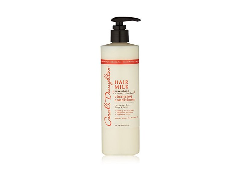 Carol's Daughter Hair Milk Nourishing & Conditioning Cleansing Conditioner, 12 Ounce