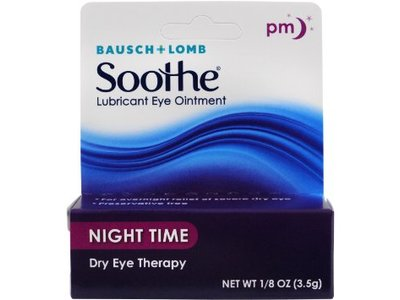Bausch & Lord Soothe Lubricant Eye Ointment, Night Time, 1.8 oz - Image 1