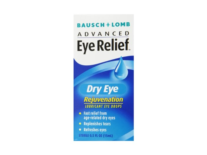 Bausch & Lomb Advanced Eye Relief, Dry Eye Rejuvenation, Lubricant Eye Drops