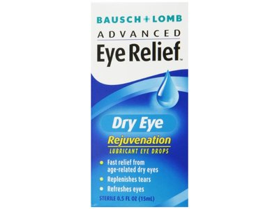 Bausch & Lomb Advanced Eye Relief, Dry Eye Rejuvenation, Lubricant Eye Drops - Image 1