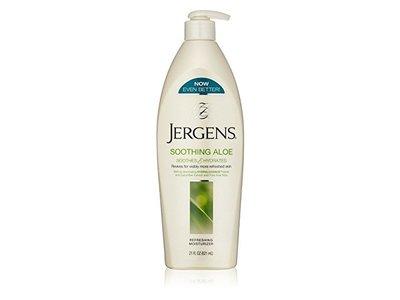 Jergens Refreshing Moisturizer Soothing Aloe, 21 fl. oz (Pack of 3)