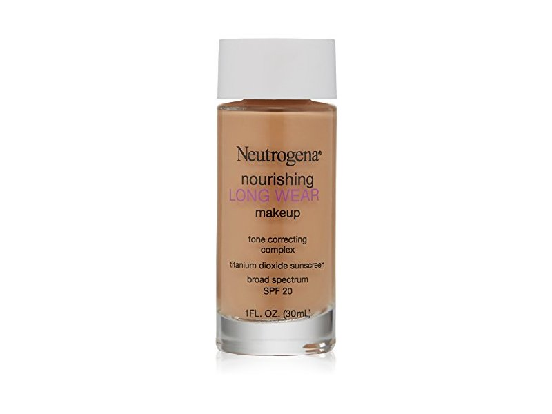 Neutrogena Nourishing Long Wear Liquid Makeup, Fresh Beige, 1 Fluid Ounce