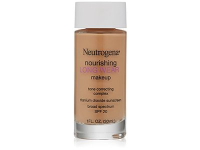 Neutrogena Nourishing Long Wear Liquid Makeup, Fresh Beige, 1 Fluid Ounce
