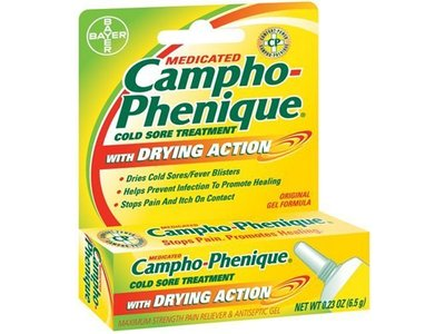 Campho-Phenique Cold Sore Treatment with Drying Action, .23 oz - Image 1