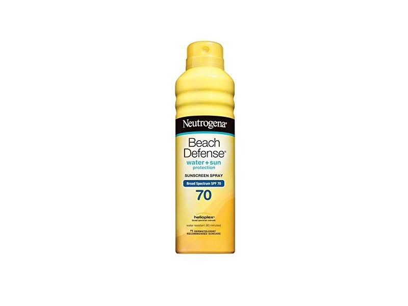 Neutrogena Beach Defense Sunscreen Spray Broad Spectrum SPF 70, 6.5 oz