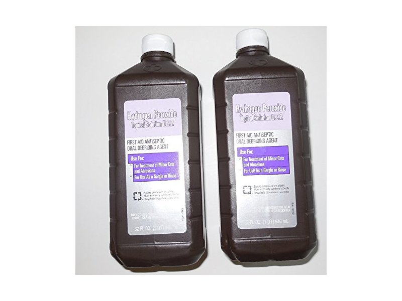 Vi-Jon Hydrogen Peroxide Topical Solution, 32 fl oz