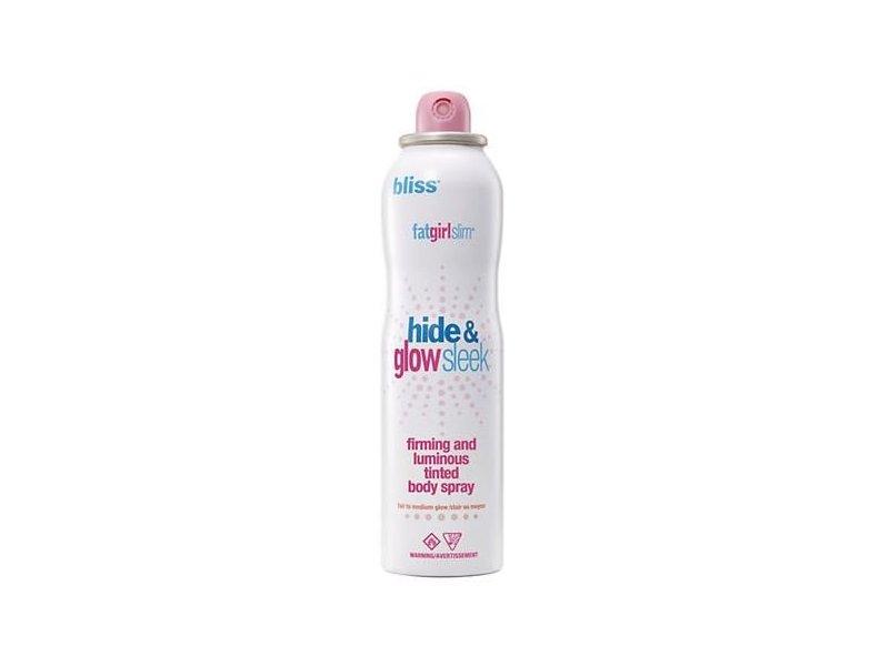 bliss Fatgirlslim Hide and Go Sleek Tinted Body Spray, Fair to Medium