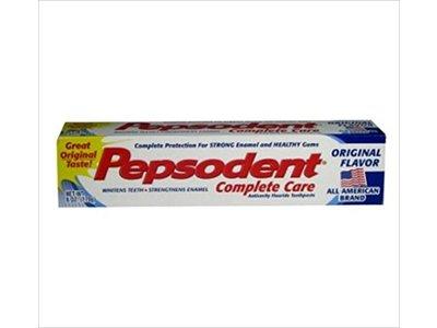 Pepsodent 6 oz. Complete Care Toothpaste, Anticavity Fluoride, Original Flavor