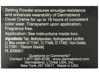 Dermablend Loose Setting Powder, Original, 1 oz - Image 9