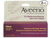 Aveeno 1% Hydrocortisone Anti-Itch Cream - Image 2