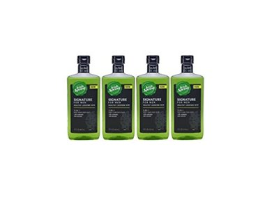 Irish Spring Signature For Men 3 in 1 Body Wash, 15 Fl. Oz. Pack of 4.