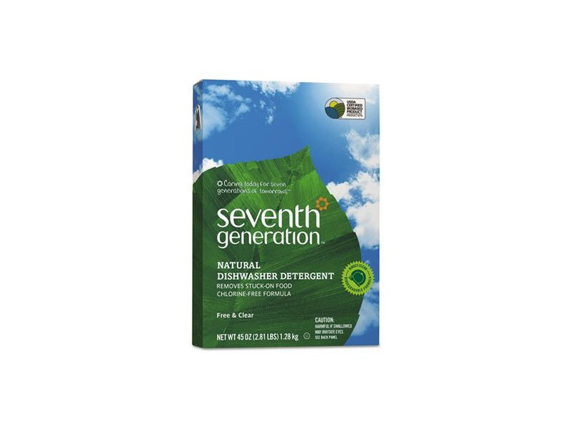 Seventh Generation Natural Dishwasher Detergent, Free & Clear, 45 oz