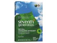 Seventh Generation Natural Dishwasher Detergent, Free & Clear, 45 oz - Image 2