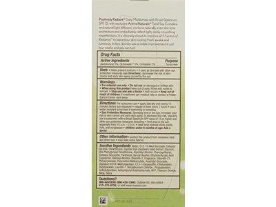 Aveeno Positively Radiant Skin Daily Moisturizer SPF 15, 4 Ounce - Image 3