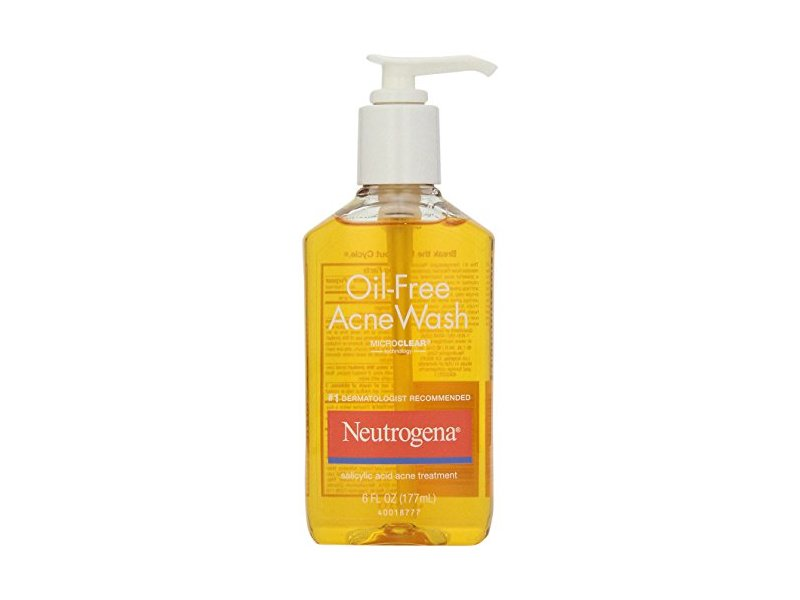 Neutrogena Oil-Free Acne Wash, 6 oz